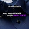 Volt fashion Eton offer Buy 2 shirts from eton and get 500kr/ 50euros off