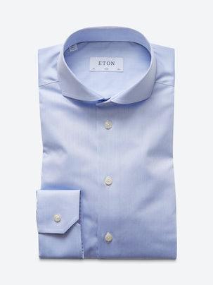 7bd22e85d4 Slim Fit Shirt - Extreme Cutaway Collar . Front. Flat.