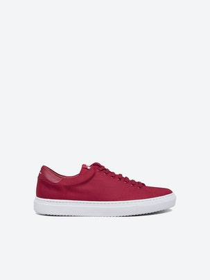 4a6255bf5a8 Axl Canvas Sneaker. Front. Flat.