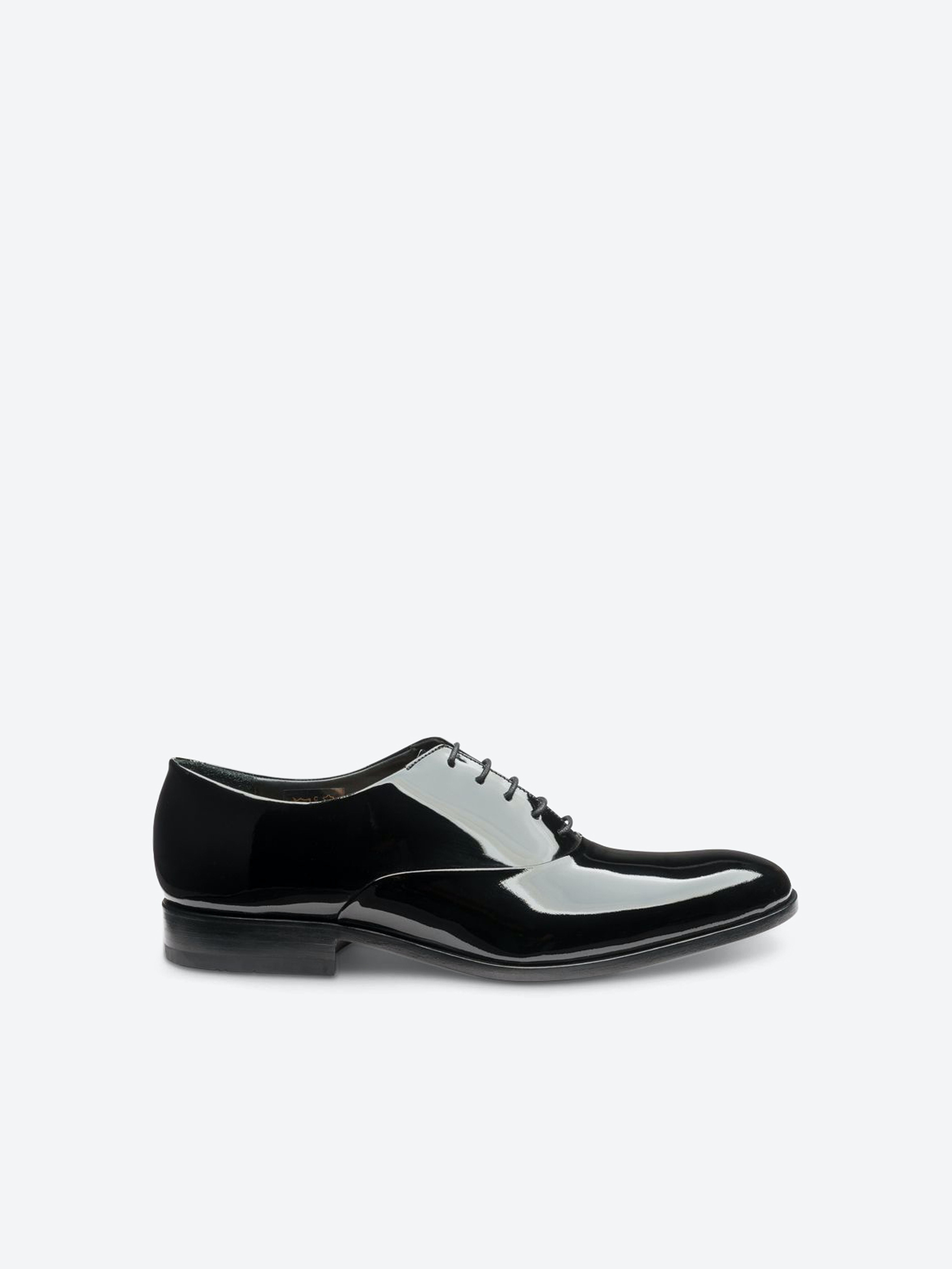 Loake Patent Leather Shoes Black | Men